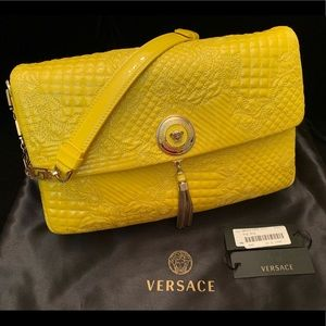 VERSACE Quilted Day Bag